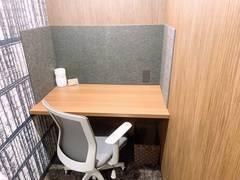 【いい部屋Space八千代店 106号室】八千代緑が丘駅徒歩5分、WEB会議可能な鍵付き個室で会議、テレワーク、仕事、勉強を!Wi-Fi無料、フリードリンクあり