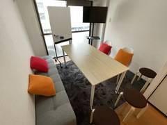 【浦和駅 徒歩8分】ゆったり過ごせるデザイナーズ貸し会議室♪ランドプレイス浦和3階♪Wi-Fi無料♪会議、テレワーク、各種教室等にご利用ください♪