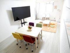 <フルーツ会議室/TeleSpace 奈良>8/11開店 ⭐️ フルーツいっぱいな多目的スペース、角部屋 ⭐️ 高水準設備