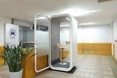 【パセーラ(基町クレド)】<2ndBase/セカンドベース>完全個室(定員1名)Wi-Fi&電源完備/オンライン面接&会議/テレワーク