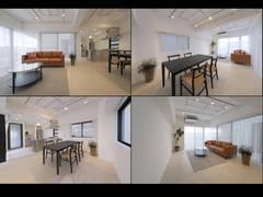 千駄ヶ谷ビル最上階の真新しい撮影スタジオ●新宿からも徒歩圏●2つのお部屋と大きな2つのバルコニー●キッチンもメイクルームも完備