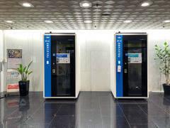 【テレキューブ】阪急ターミナルビル プライベートな空間で集中できる1人用の個室型ワークスペース (26-02)