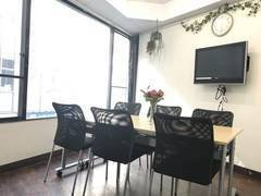 【新宿西口駅 30秒】RAKUNA西新宿 設備充実の格安会議室!直前割あり 無料Wi-Fi、モニター完備
