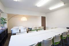 【四谷三丁目駅3分】完全個室で高速WiFi・有線LAN無料!飲食持込可グラッドスペース3F