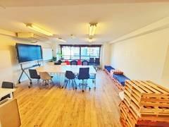 【渋谷駅5分】完全個室セミナー・勉強会・社内研修イスのみ35席、ワークショップなど多目的スペース SHARE OFFICE BIGNESS
