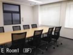 ハロー貸会議室八重洲フィナンシャルビル E Room1 (8F島型)
