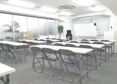 渋谷駅から徒歩3分【セミナールーム】40人規模までOK!大型スクリーン・プロジェクター無料!多人数会議やセミナーに◎