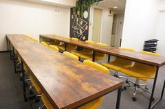<リーフ会議室>⭐️浜松町より徒歩3分⭐️ゆったり20名収容!大型ホワイトボード・WIFI・プロジェクター無料!