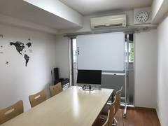 大門・浜松町★徒歩3分★清潔な完全個室 ※ WiFi(光回線)&PC液晶モニター有