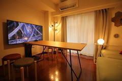 【MTGスペース歌舞伎町】55型TV/8名収容/AppleTV/ホワイトボード