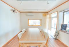 【1日貸切プラン(朝6時〜23時まで)】FreeSpace753 千葉県市川市【JR本八幡駅徒歩5分】 会議や教室、展示に上映会、物販や軽食パーティーと使い方は自由自在です。