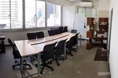 中野駅 徒歩4分・新宿8分:大きな窓で自然光が豊かな完全独立タイプの貸切会議室-401号室