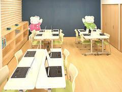 こども向けに作られたポップな教室