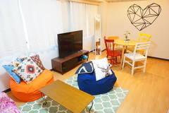 <ハートスペース>渋谷駅から徒歩7分♪落ち着いたお部屋でパーティーから打ち合わせまで♡WIFI、大型TV無料!