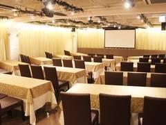 名古屋駅より徒歩4分】名古屋会議室 ELLE HALL Dining 名古屋駅前店 第1会議室(29〜54名)【室料30%割引キャンペーン実施中!】