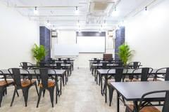 【渋谷駅B2出口徒歩25秒!32名利用可!】5/18オープン!贅沢な空間!WiFi・プロジェクター・ホワイトボード全て無料!ふれあい貸し会議室 渋谷No29