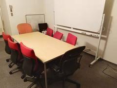 完全個室ゆったり20平米【麹町駅前/四ツ谷徒歩圏】会議・面談用スペース
