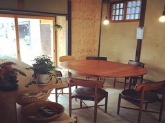 駅から徒歩7分、雰囲気のある古民家カフェ