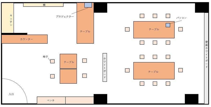 OPENセール中!天満橋駅徒歩4分 会議・各種セミナー・教室・講習会・ゲームのオフ会などに最適