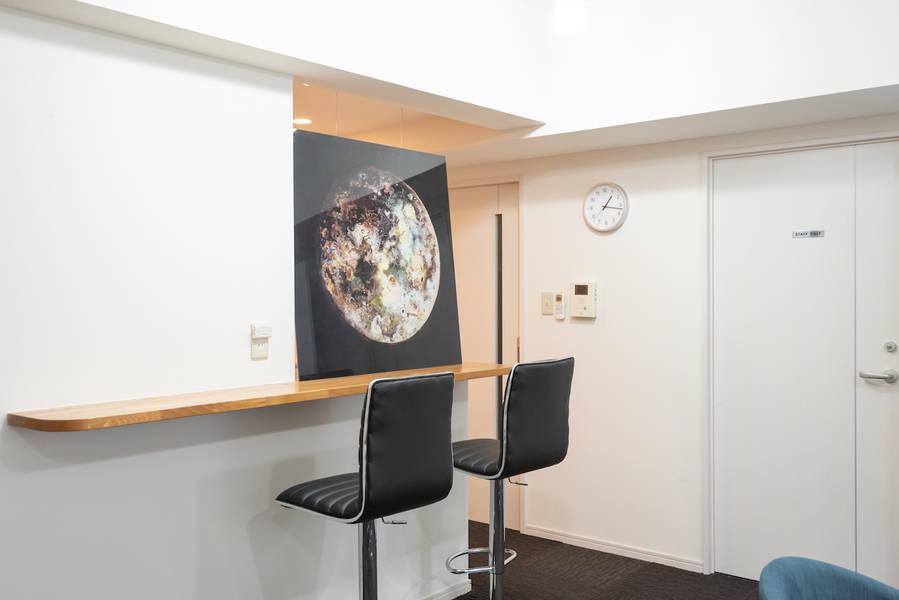 【渋谷駅】<デザイナーズ会議室>13番出口5分/Wi-Fi無料/プロジェクター/パーティー可/代々木公園5分