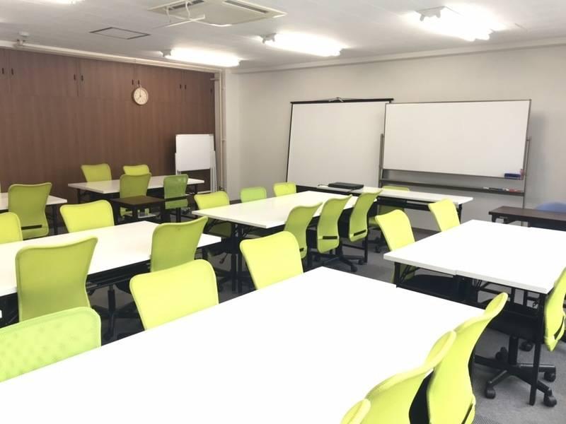 ★☆3WAYアクセス可能な会議室・セミナールーム☆★プロジェクター無料!打合せ・会議・セミナー・研修・勉強会や教室などの開催に最適です。