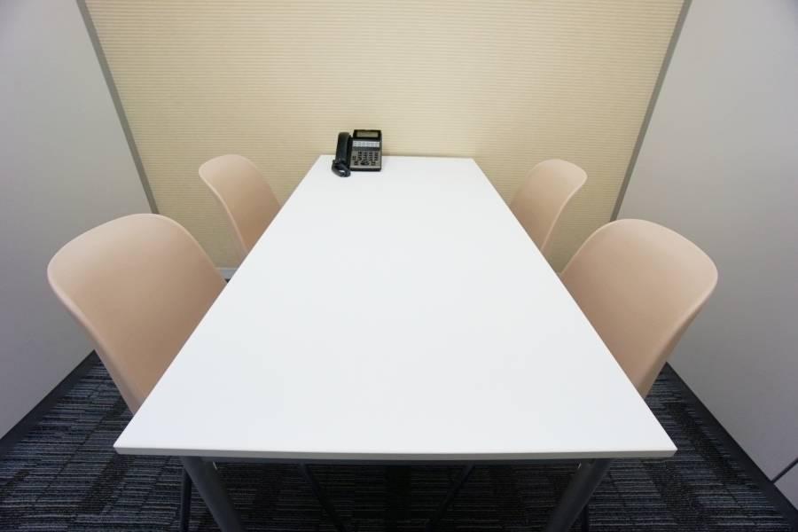 【12時間パックプラン】名古屋会議室 プライムセントラルタワー名古屋駅前店 第8会議室(最大収容4名)【無料Wi-Fi完備・ハイグレードな貸し会議室】