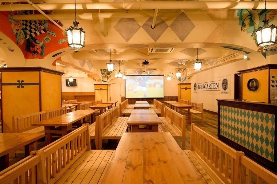 【渋谷駅徒歩5分】最大席数160席の多目的スペース 各種イベント等に最適 マイク/プロジェクター完備 【ツムビアホフ渋谷】