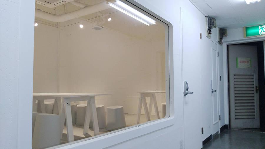 【B1-A】渋谷4分。ギャラリースペース、展示会、イベント、ミーティング、会議、セミナーなど。
