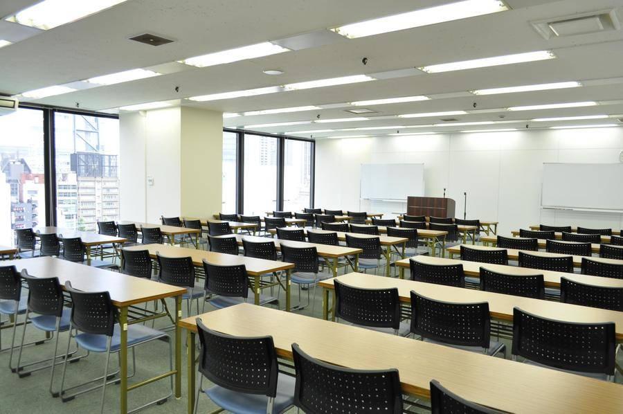 100円スペイシー新橋【SL広場すぐ横】RoomG(8名) supported by ハロー貸会議室新橋