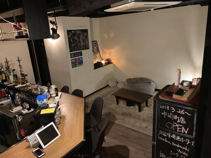 【梅田から徒歩5分!】黒を基調にしたお洒落スペース!小規模イベントに最適!