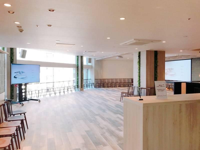 東銀座駅至近、銀座の街を一望できるロケーションで、各種利用目的にあわせてスペースを利用できます!