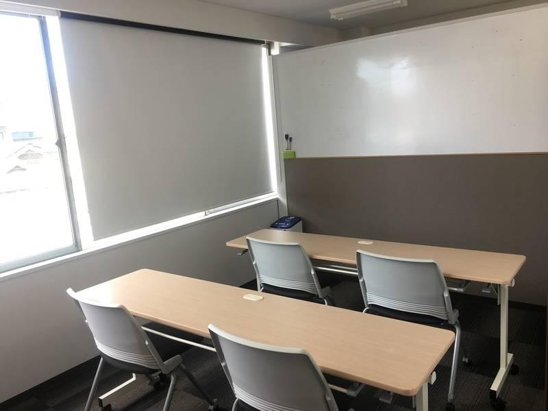 熊谷、レンタルオフィス、フリースペース・会議室貸出(6名)