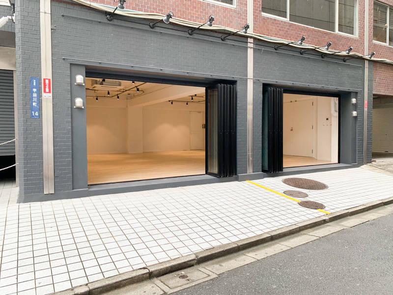 【渋谷駅7分】OPENBASE SHIBUYA 1Fプロモーションスペース