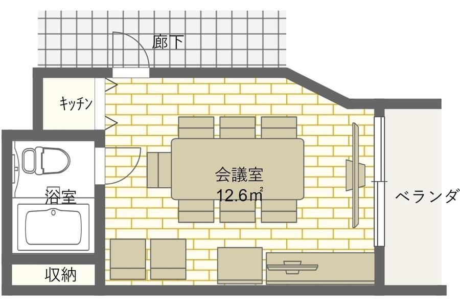 [セルフ会議室] 渋谷駅 徒歩5分|最大9名|会議・ボードゲーム・休憩 - SB1(禁煙)
