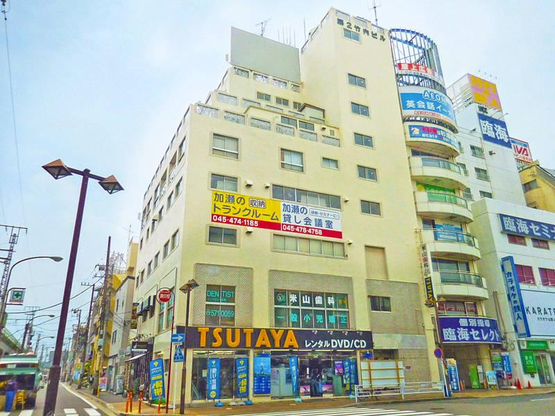 鶴見駅前123名収容 第一+第二会議室 プロジェクター・スクリーン・マイク無料