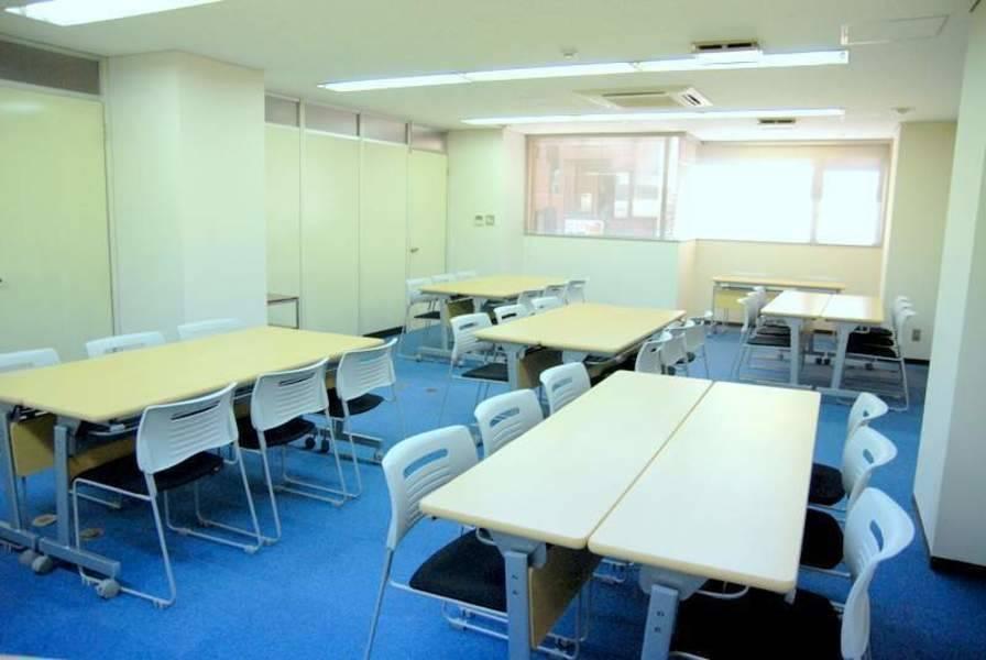 【赤坂駅3分】24H年中無休!広々ゆったり♪シンプルな個室レンタルセミナールーム(34名)