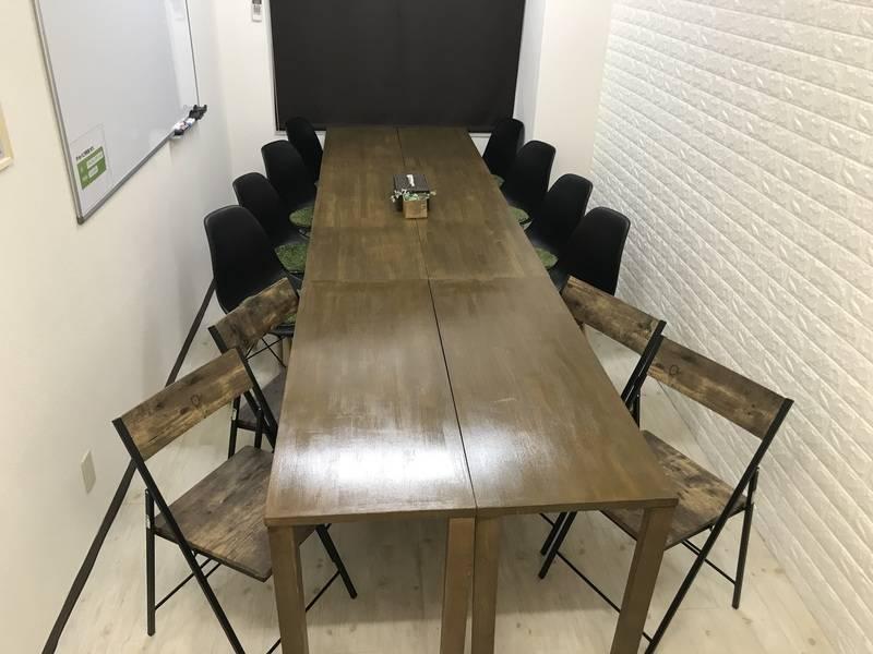 【上野の定番会議室】安定したWi-Fi環境でオンライン会議やテレワークにも最適!完全個室の静かな空間をご利用ください。