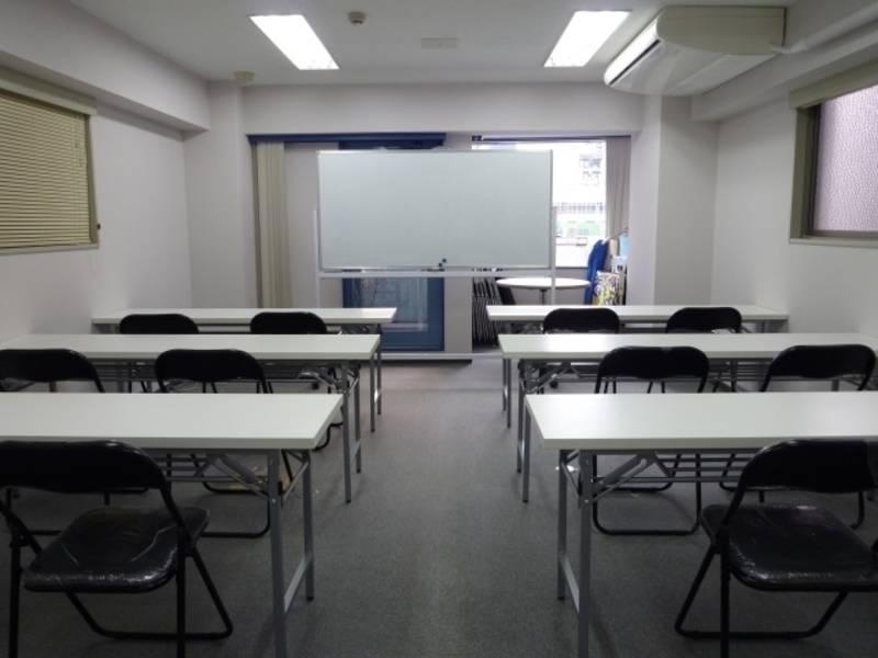 【神田駅最安!¥500】ワンコイン貸し会議室〜最大20名収容可能〜