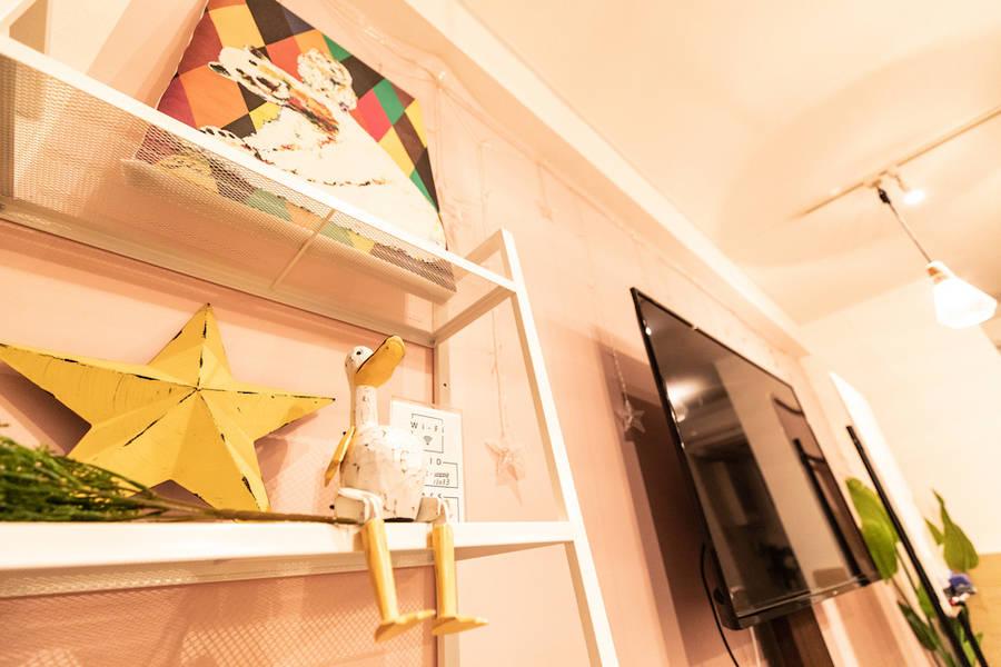 ✨リニューアル✨<堺筋本町ブリックスペース>リモートワーク・テレワークにも最適!堺筋本町駅徒歩2分!55inchの大型テレビ!