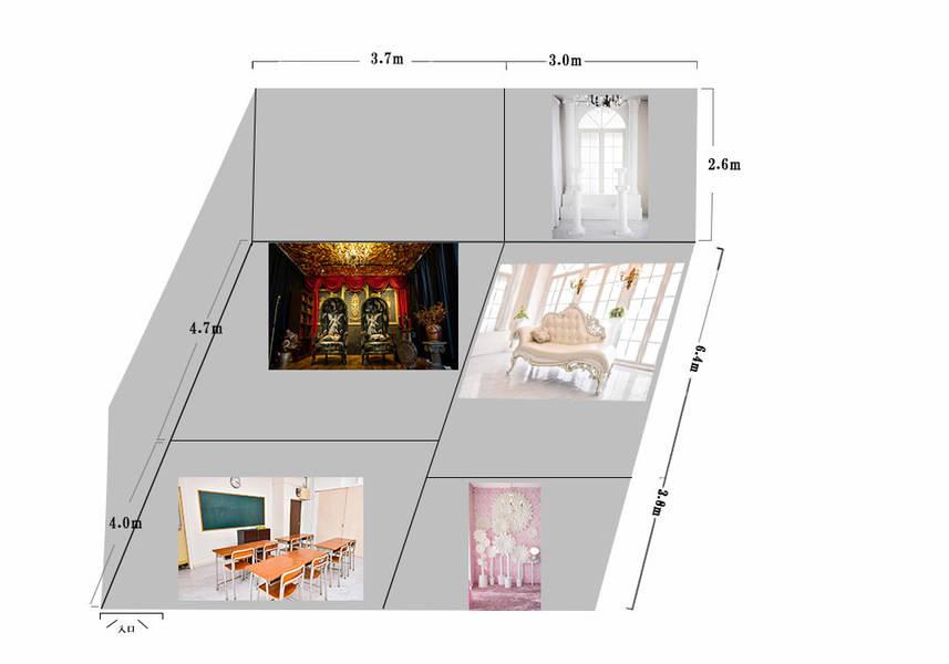 教室スタジオ 会議室スペース、 フォトレンタルスタジオ