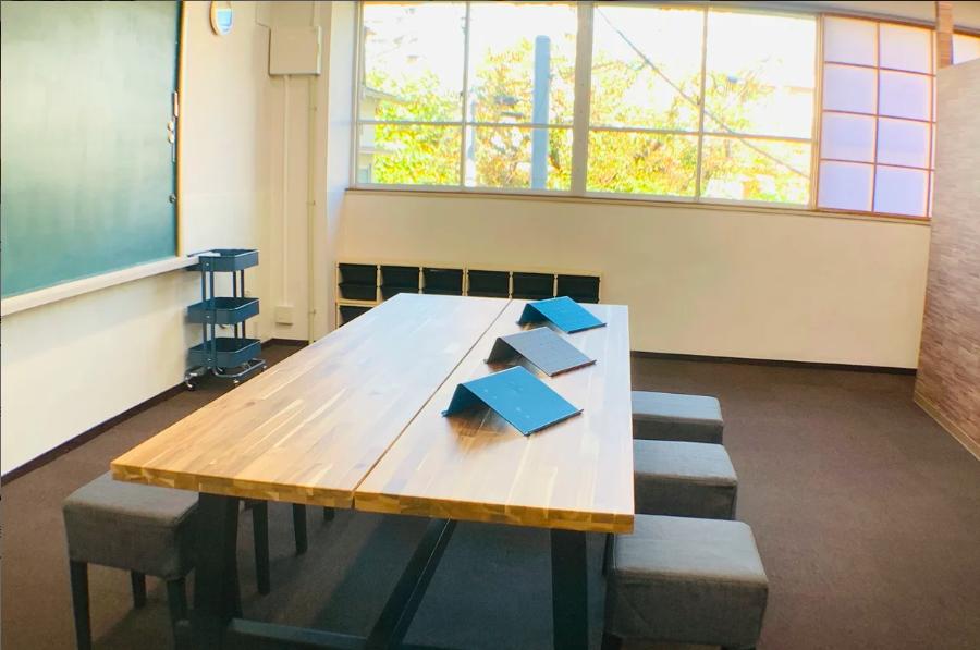 【目白/池袋/高田馬場】会議やセミナー利用にも最適の多目的フリースペース!(WiFi無料・電源利用可・ホワイトボード有)東京英語會の貸教室