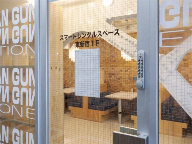 スマートレンタルスペース東新宿1F☆OPEN価格1時間3900円~(税抜)☆設備全て無料!オプション料金等なし