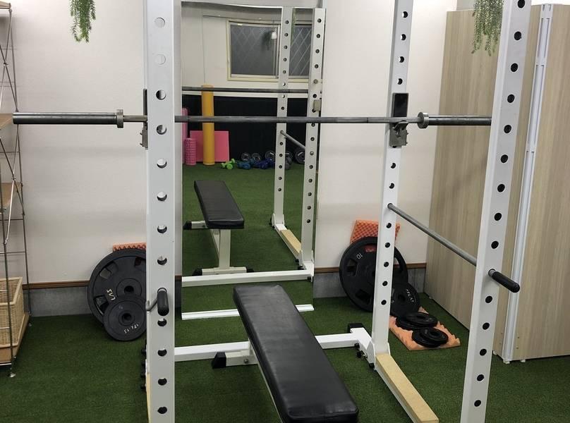 新中野 個室のトレーニングスペース