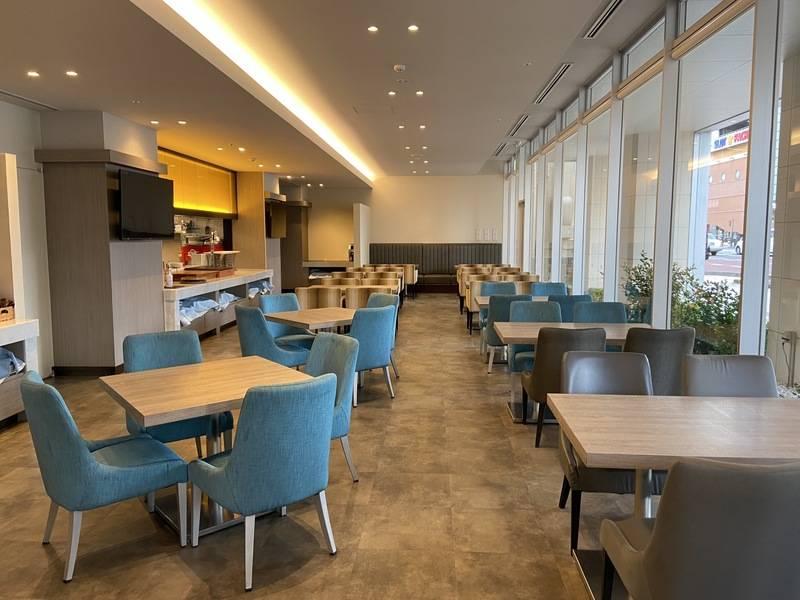ホテル1階レストランスペース