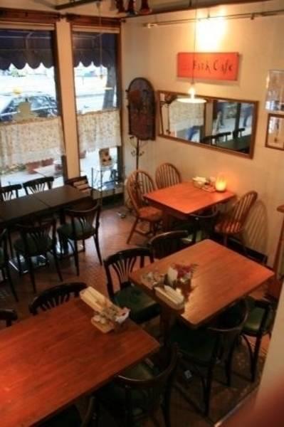 天神橋筋 1F パークカフェ 1階の写真