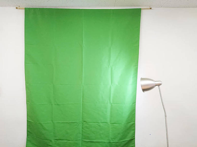 <クロマキー合成できる撮影スタジオ>Webカメラ・ジェル消毒完備【新宿・西新宿】 16名でのセミナー・会議・ミーティング・上映会・オフ会等で利用可のレンタルスペース!Wifi(光回線)、55インチモニター無料で利用可!