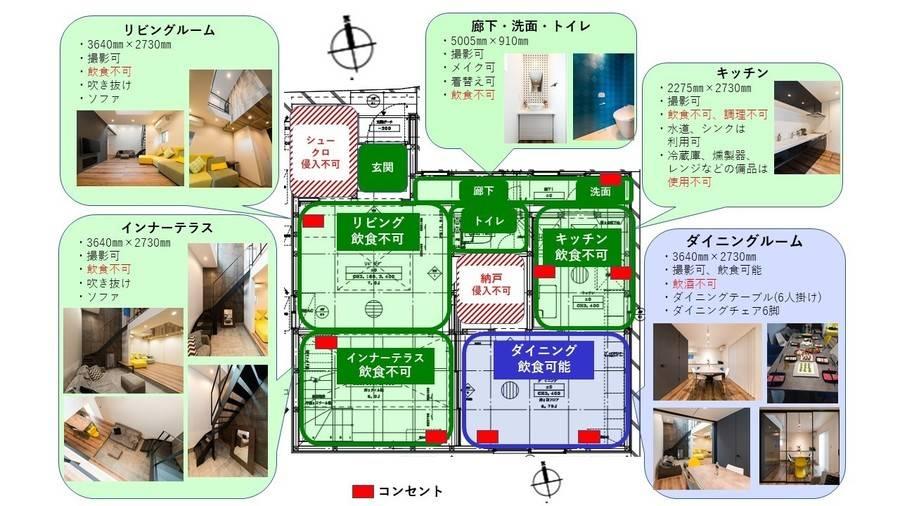 デザイナーズ ハウススタジオLoop❽ ~写真・映像撮影に~【荻窪駅 徒歩12分】