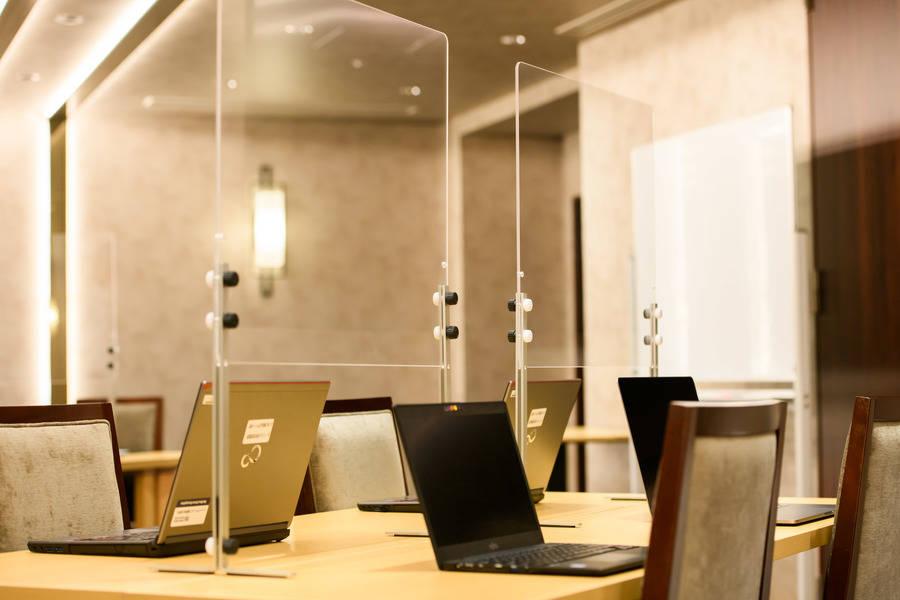 【京都駅八条東口徒歩約5分♪】ダイワロイヤルホテルグランデ京都1F会議室レンタル 駅近でテレワークオフィスやミーティングに最適♪ オプションでランチ、ディナーも予約可♪