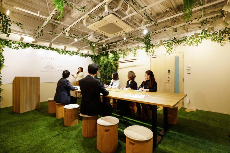 【森の会議室】久屋大通駅より徒歩3分!森の中をイメージしたマイナスイオンが溢れる空間♪