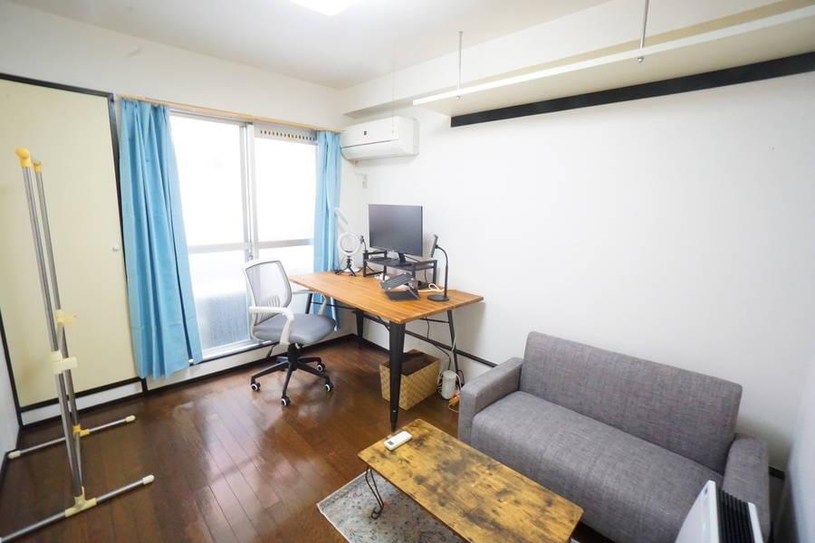 <淡路ミニマルオフィス106>完全個室✨モニター/LEDライトあり!テレワーク/Web会議,面接